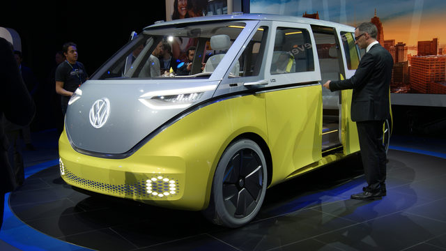 Volkswagen I.D. BUZZ concept van looks to past, future