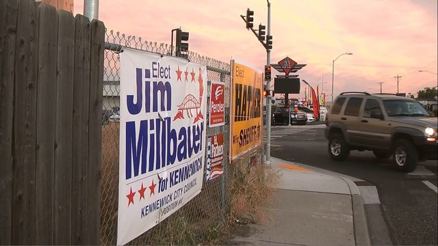 Crossing political lines: city officials tackle challenges with political signs