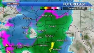 Snow/wintry mix Saturday morning