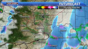 Thursday afternoon wintry mix