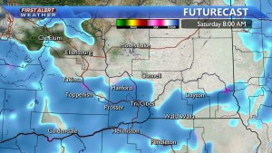 Snow possible Saturday