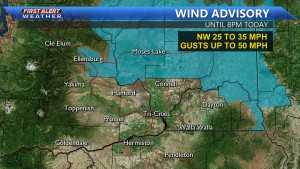Wind Advisory until 8PM this evening