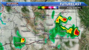 This Afternoon showers and storms