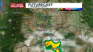 Storm Chance this evening