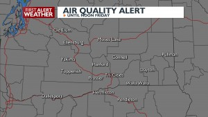 Air Quality Alert though Friday