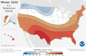 Winter Temperature Outlook