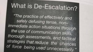 De Escalation Ypd Handout