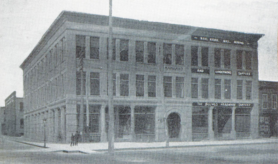 Superior Evening Telegram Maryland Block Building 1919 1